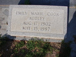 Emily Marie <i>Cook</i> Audley