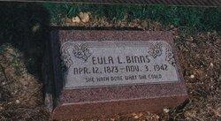 Perthinia Eula Lee Pert <i>Brooks</i> Binns