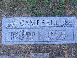 Leona Marie <i>Barton</i> Campbell