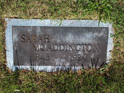 Sarah M. Sallie <i>Kilgore</i> Addington
