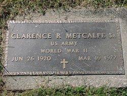 Clarence Roy Mick Metcalfe, Sr