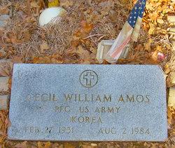 Cecil William Amos