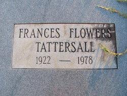 Frances <i>Flowers</i> Tattersall