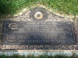 Mrs Helen Anetta Corry
