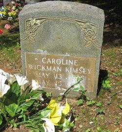 Caroline <i>Wickman</i> Kimsey