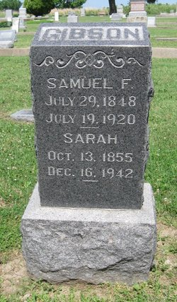 Samuel Finley Gibson