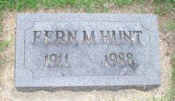 Fern Marie <i>Willey</i> Hunt