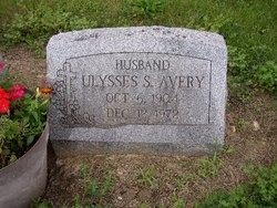 Ulysses S Avery