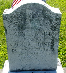 Annie Mary <i>Arnold</i> Grimes