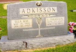 Lillard Thurston Bud Adkisson