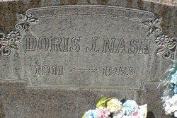 Doris Jane <i>Hines</i> Nash