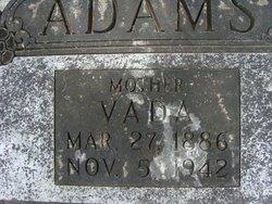 Vada <i>Ramey</i> Adams