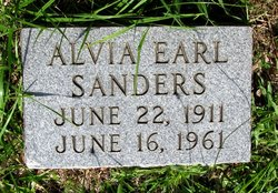 Alva Earl Sanders