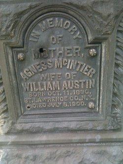 Agnes <i>McIntier</i> Austin