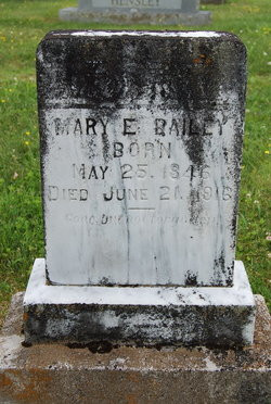 Mary E <i>Mauk</i> Bailey