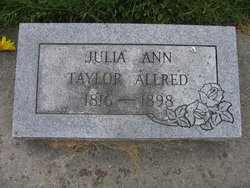 Julia Ann <i>Taylor</i> Allred