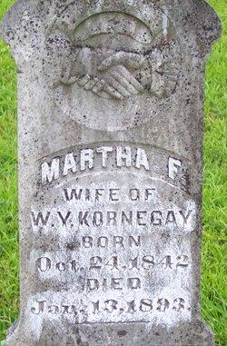 Martha Francis <i>Thomas Madison</i> Kornegay