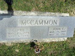 Carrie <i>Parker</i> McCammon
