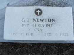 Pvt George Fennell Newton