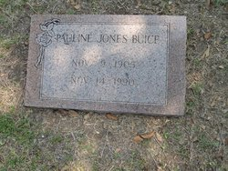 Mrs Pauline <i>Jones</i> Buice