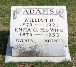 Emma <i>Connelly</i> Adams