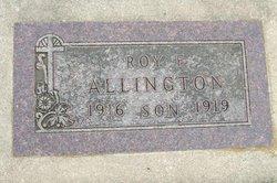 Roy F. Allington
