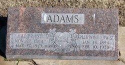 Pierpont E Adams