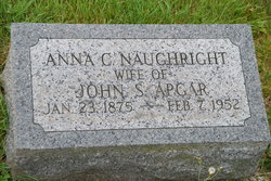 Anna C <i>Naughright</i> Apgar