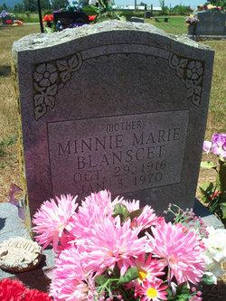 Minnie Marie <i>Davis</i> Blanscet