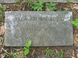 Ella <i>Brown</i> Burr