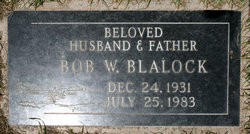 Bob W Blalock