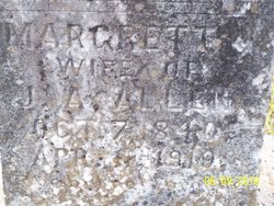 Margarett Josephine Tamsy <i>Williamson</i> Allen