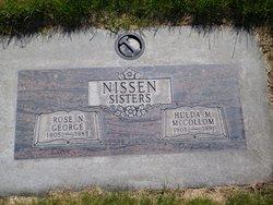 Rose M <i>Nissen</i> George
