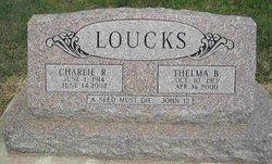 Thelma B <i>Blosser</i> Loucks