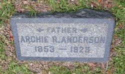 Archie Rolander Anderson