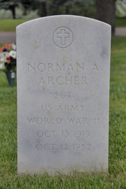 Norman Alfred Norm Archer
