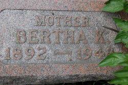 Bertha K Boesche