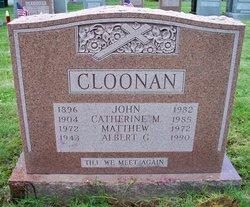 Catherine Margaret <i>Folan</i> Cloonan