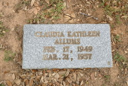 Claudia Kathleen Allums