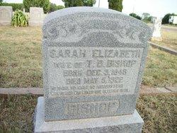 Sarah Elizabeth Bishop