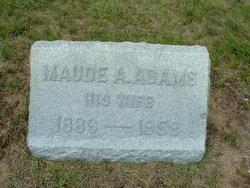 Maude Alice <i>Bradshaw</i> Adams