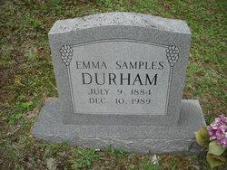Emma <i>Samples</i> Durham
