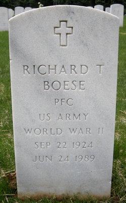 Richard T Boese