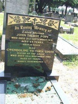 Gwendoline Victoria <i>Pope</i> Coote