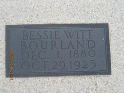 Bessie <i>Witt</i> Bourland