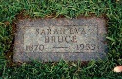 Sarah Eva <i>Talley</i> Bruce