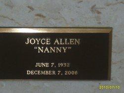 Joyce Nanny Allen