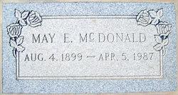 May Eva <i>Lindley</i> McDonald