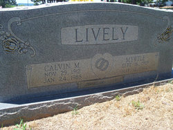 Calvin Marvin Lively