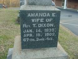 Amanda Elvira <i>McAfee</i> Dixon